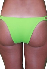 Pualani Skimpy Double Tie Lime Green Solid