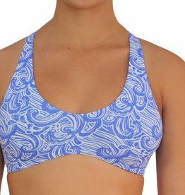 Pualani Reversible Yogini Surf Top Waves