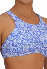 Pualani High Neck Halter Waves