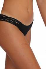 Pualani Skimpy Love with Braided Sides Black Solid