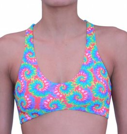 Pualani Reversible Yogini Surf Top Galaxy