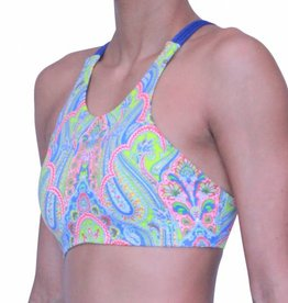 Pualani High Neck Halter Valencia