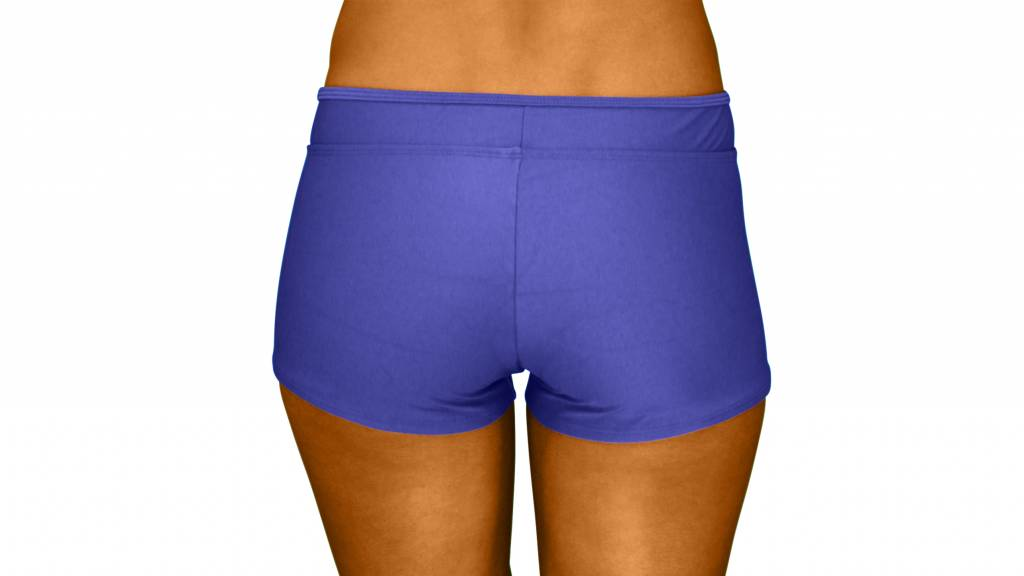 Pualani Hot Pant Blue Violet Solid