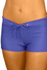 Pualani Hot Pant Blue Violet Solid