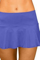 Pualani Skirt w/Attached Bottom Blue Violet Solid