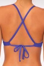 Pualani Sport Tie Blue Violet Solid