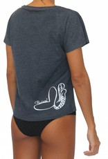 T-Shirt Mermaid Navy w/ White