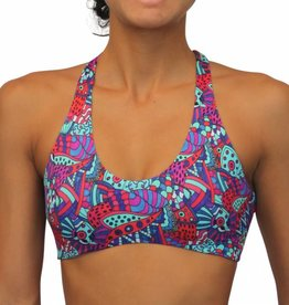 Pualani Reversible Yogini Surf Top Soho