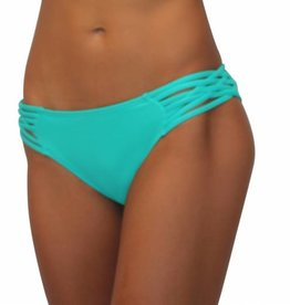 Pualani Scoop w/ Side Strings Sea Green Solid