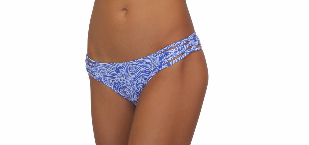Pualani Skimpy Love with Braided Sides Waves