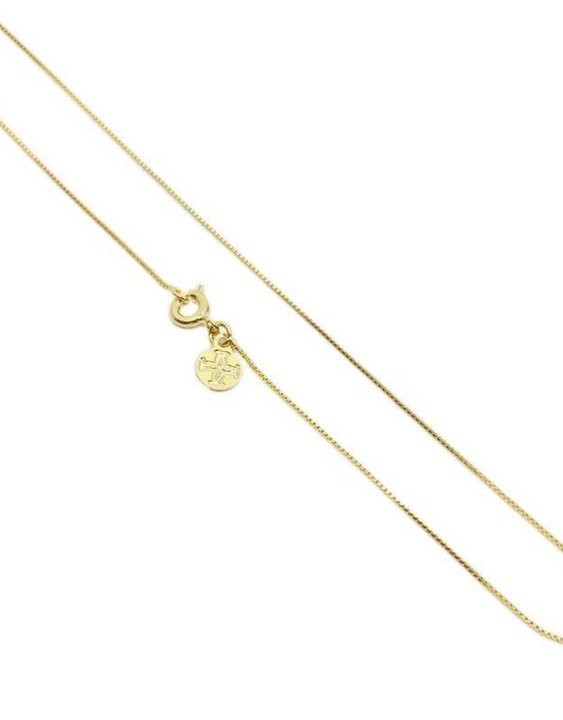 """20"""" BOXY CHAIN NECKLACE"""