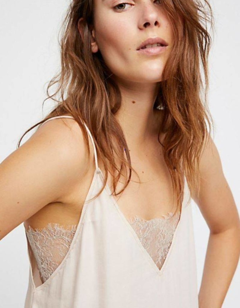 Free People DEEP BANDEAU V CAMI