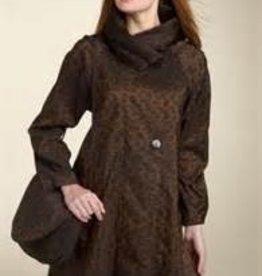 Mycrapac Donatella Reversible Coat Leopard Print