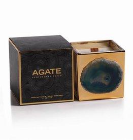 Zodax Agate Scented Candle Jar La Sardaigne