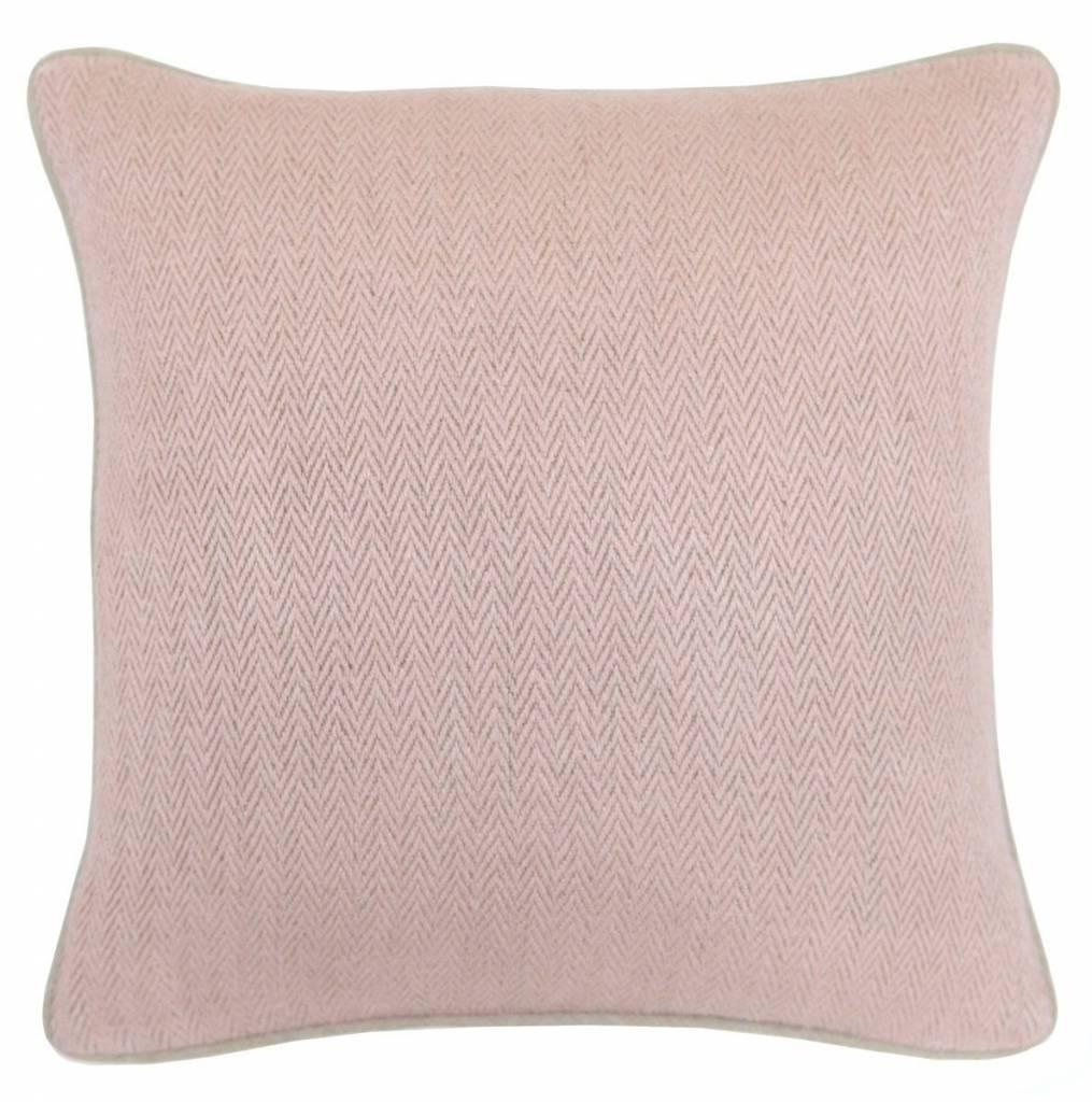 Herringbone Blush Pillow