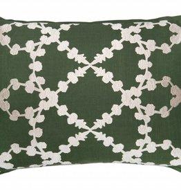 Elda Dark Olive Pillow