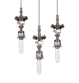 Raindrop Industrial Chic Pendant - Each