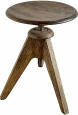 Brock Wooden Stool
