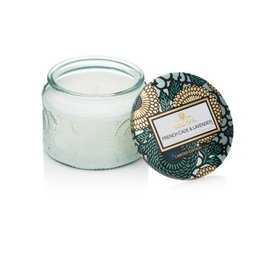Voluspa Petite Embossed Jar Candle French Cade & Lavender