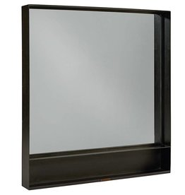 Magnolia Home Metal Cased Black Mirror