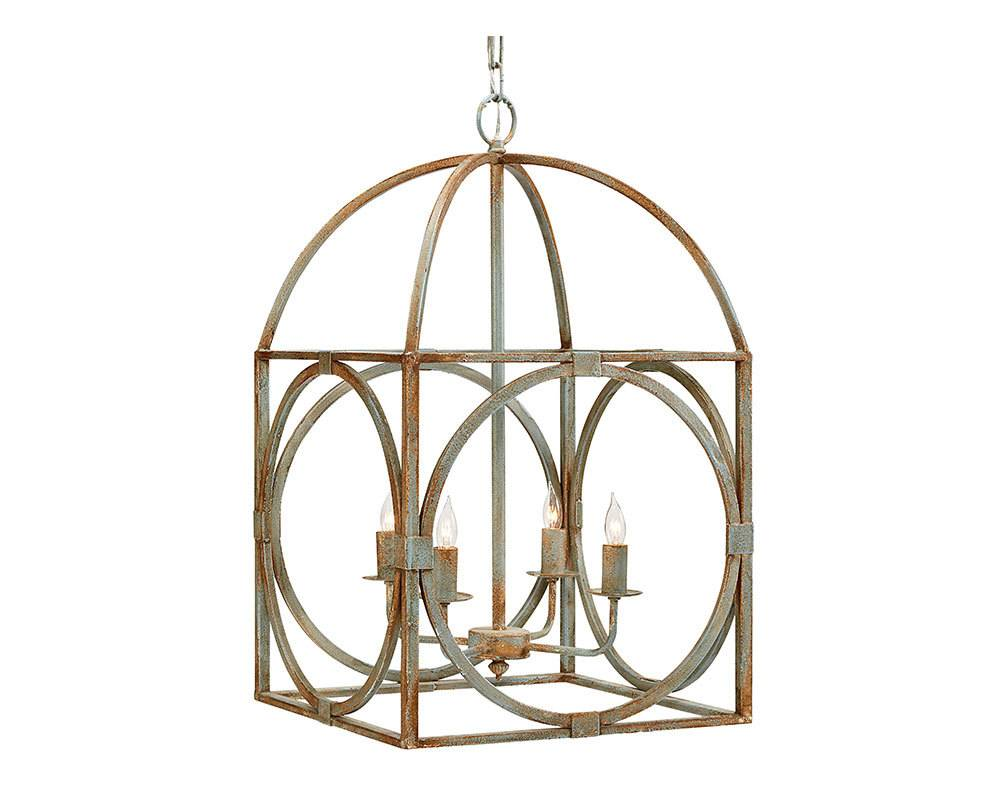 Metal birdcage chandelier simply elegant boutique magnolia home metal birdcage chandelier aloadofball Choice Image