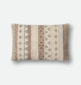 Zig Zag Stripe Design Pillow Multi