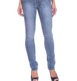 Lola Jeans Rebeccah High Rise Straight Jean Medium Lt Blue