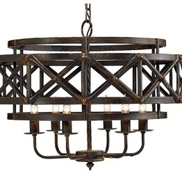 Magnolia Home Industrial Trestle Chandelier