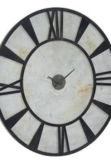 Magnolia Home Metal Industrial Wall Clock