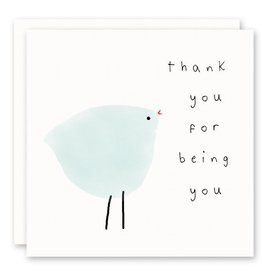 'thank you for being you' Greeting Card