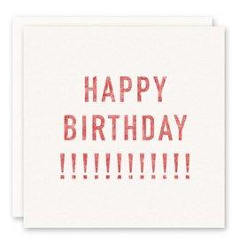'happy birthday!!!!!!' Greeting Card