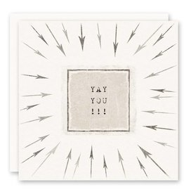 'yay you!' Greeting Card
