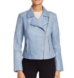 BB Dakota Dominic Garment Dyed Leather Denim Blue