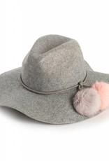 Echo Rabbit Fur Pom Hat