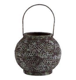 Verdigris Henna Lantern