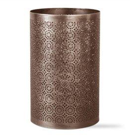 Pierced Lantern Antique Bronze Pillar
