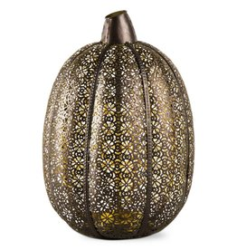 Filigree Pumpkin Lantern Large