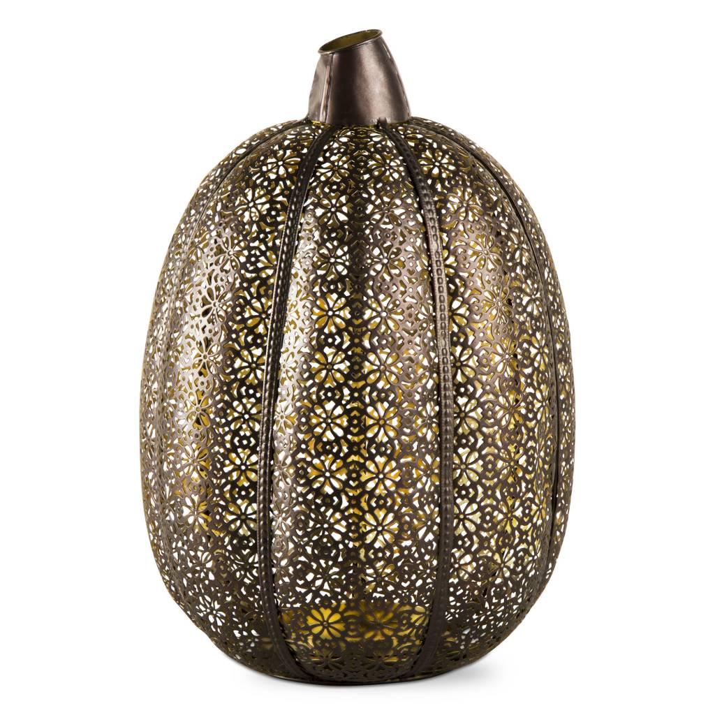 Filigree Pumpkin Lantern Large