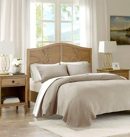 Valencia 3 pc Matelasse Coverlet