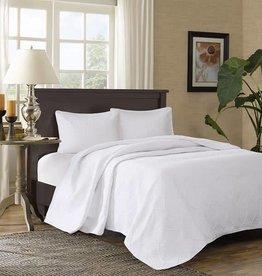 Corrine 3pc Bedspread Set - White