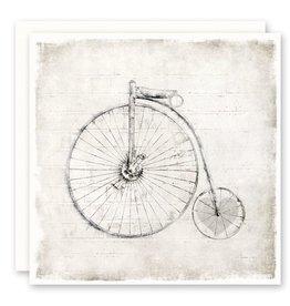 'bike heart' Greeting Card
