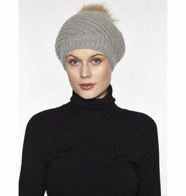 Linda Richards Twirl Hat with Pom Pom