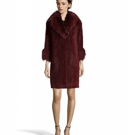 Linda Richards Mink Jacket With Fox Collar