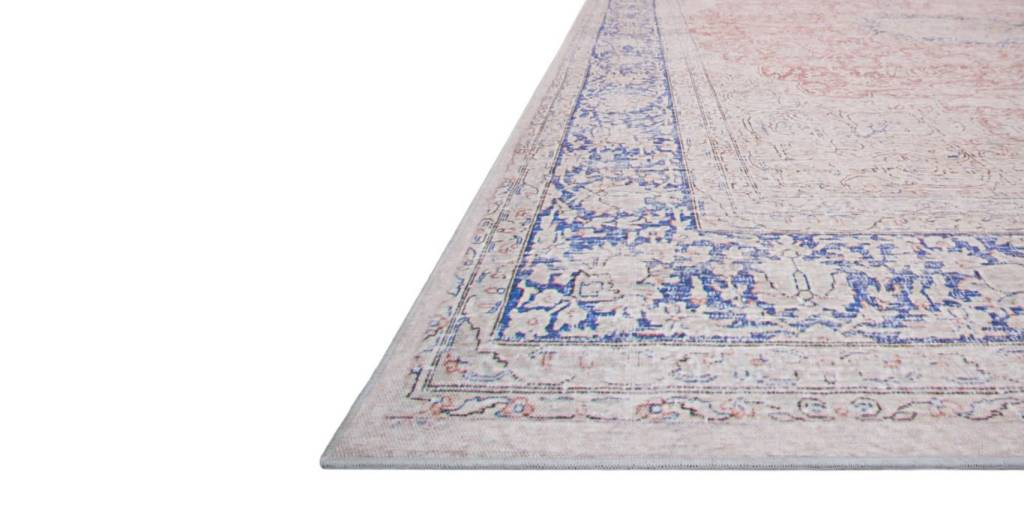 Magnolia Home Lucca Collection Terracotta/Blue