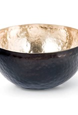 Hammered Brass Bowl (Black And Bronze)