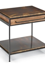Baxter Nightstand (Blackened Iron)