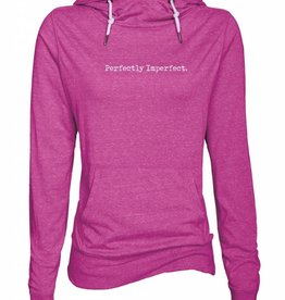 Perfectly Imperfect Funnel Neck Hoodie