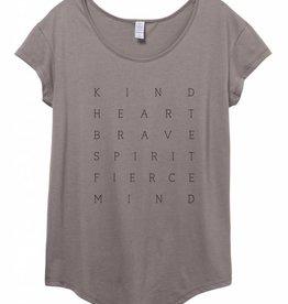 Kind Heart Brave Spirit Fierce Mind Tee