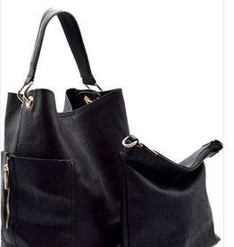 Side Pocket Hobo with Travel Bag