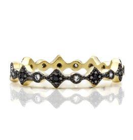Freida Rothman Thin Harlequin Ring